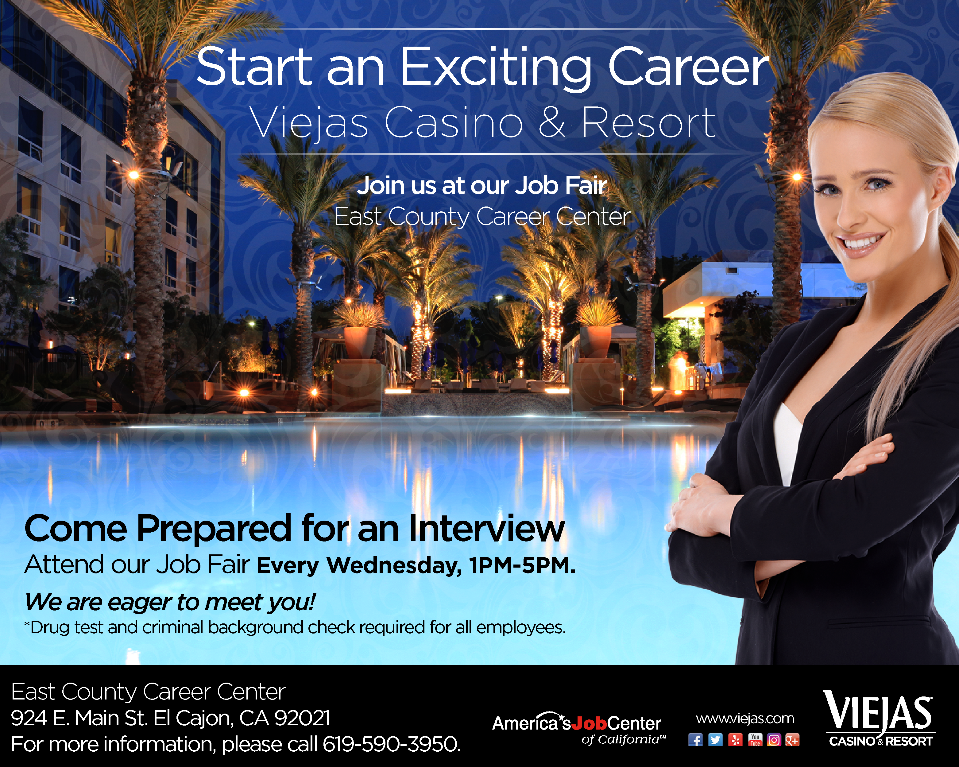 Viejas casino jobs by seneca niagara casino